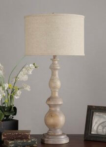 Turn a lamp from Overstock into an expensive looking ceiling light